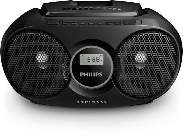Philips AZ318B12 Portable CD player Black