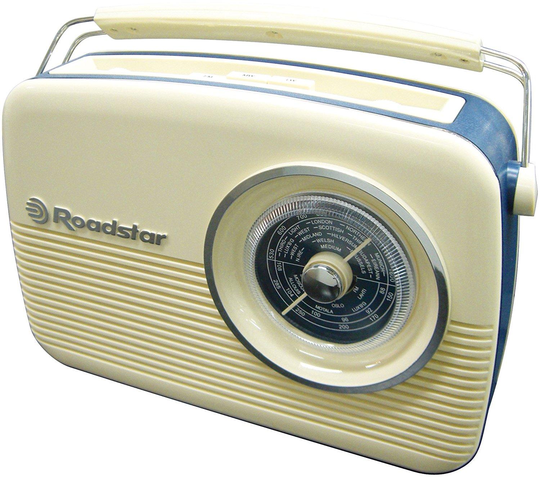 Radio FM Vintage portatile Roadstar TRA-1957CR