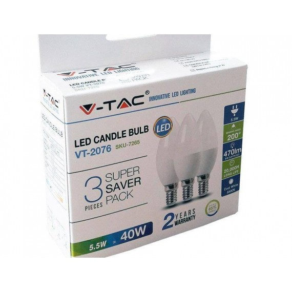 V-Tac VT-2076 Super Saver Pack